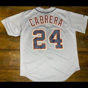 Detroit tigers cabrera jersey